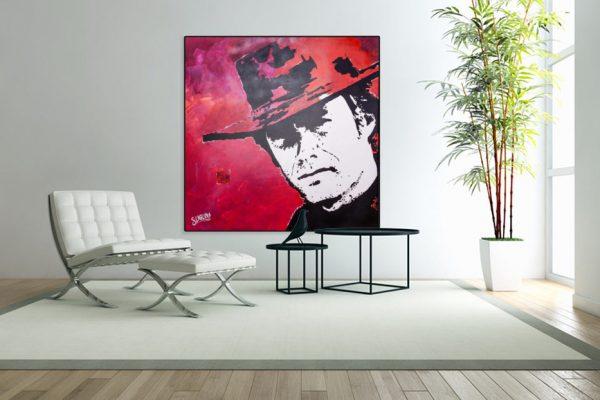 ClintEastwoodpainting-affordableart-artwall-artforsale-artwebsites-buyartonline-contemporaryart-bestartistpainter2019-fineart-Banksyartwork-jonathanthepainter-laouina