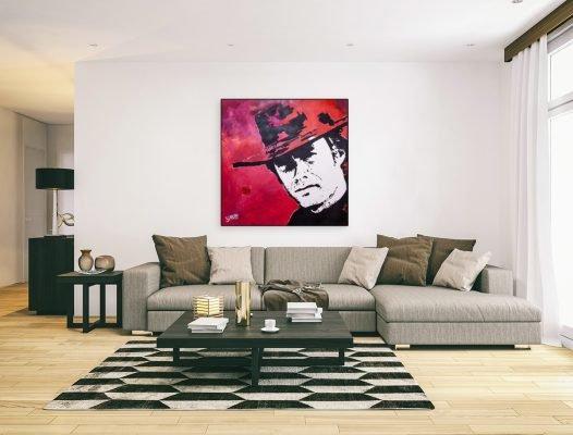 ClintEastwoodpainting-affordableart-artwall-artforsale-artwebsites-buyartonline-contemporaryart-bestartistpainter2019-fineart-Banksyartwork-jonathanthepainter-laouina2