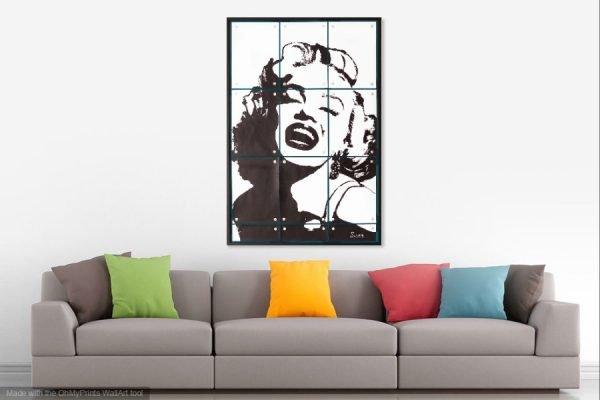 MarilynMonroepainting-affordableart-artwall-artforsale-artwebsites-buyartonline-contemporaryart-bestartistpainter2019-fineart-Banksyartwork-jonathanthepainter-laouina2