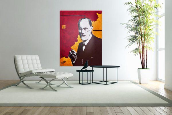 SigmundFreudpainting-affordableart-artwall-artforsale-artwebsites-buyartonline-contemporaryart-bestartistpainter2019-fineart-Banksyartwork-jonathanthepainter-laouina