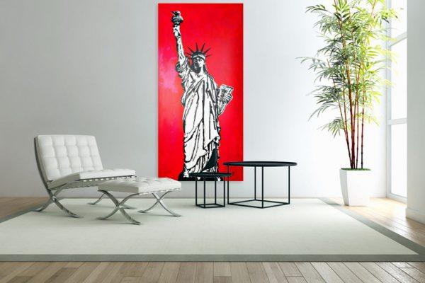 Statueoflibertypainting-affordableart-artwall-artforsale-artwebsites-buyartonline-contemporaryart-bestartistpainter2019-fineart-Banksyartwork-jonathanthepainter-laouina