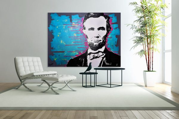 abrahamlincolnpainting2-affordableart-artwall-artforsale-artwebsites-buyartonline-contemporaryart-bestartistpainter2019-fineart-Banksyartwork-jonathanthepainter-laouina3