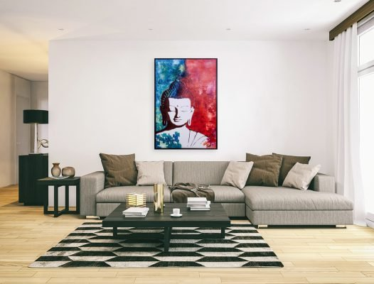 bouddhapainting-affordableart-artwall-artforsale-artwebsites-buyartonline-contemporaryart-bestartistpainter2019-fineart-Banksyartwork-jonathanthepainter-laouina
