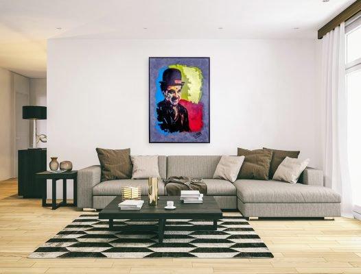 charliechaplinpainting-affordableart-artwall-artforsale-artwebsites-buyartonline-contemporaryart-bestartistpainter2019-fineart-Banksyartwork-jonathanthepainter-laouina