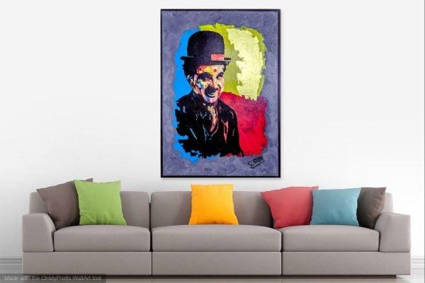 charliechaplinpainting-affordableart-artwall-artforsale-artwebsites-buyartonline-contemporaryart-bestartistpainter2019-fineart-Banksyartwork-jonathanthepainter-laouina1
