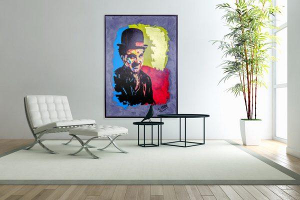 charliechaplinpainting-affordableart-artwall-artforsale-artwebsites-buyartonline-contemporaryart-bestartistpainter2019-fineart-Banksyartwork-jonathanthepainter-laouina2
