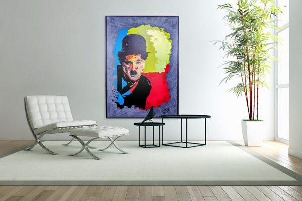 charliechaplinpainting2-affordableart-artwall-artforsale-artwebsites-buyartonline-contemporaryart-bestartistpainter2019-fineart-Banksyartwork-jonathanthepainter-laouina1