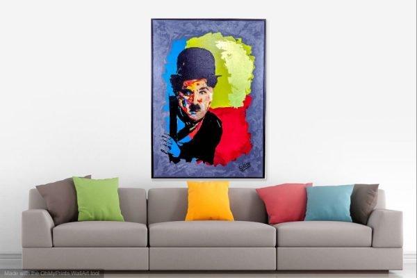 charliechaplinpainting2-affordableart-artwall-artforsale-artwebsites-buyartonline-contemporaryart-bestartistpainter2019-fineart-Banksyartwork-jonathanthepainter-laouina3