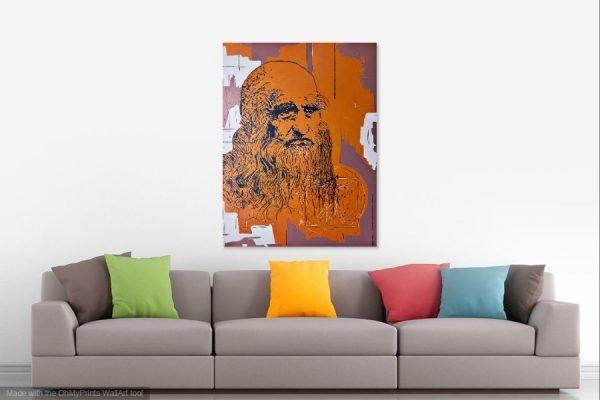 leonardodavincipainting-affordableart-artwall-artforsale-artwebsites-buyartonline-contemporaryart-bestartistpainter2019-fineart-Banksyartwork-jonathanthepainter-laouina1