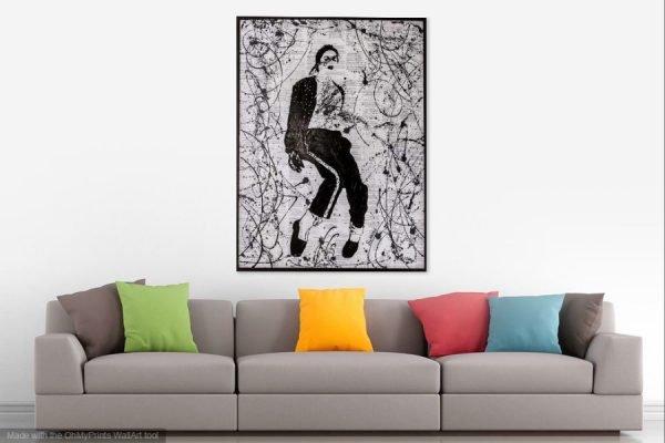 michaeljacksonpainting-affordableart-artwall-artforsale-artwebsites-buyartonline-contemporaryart-bestartistpainter2019-fineart-Banksyartwork-jonathanthepainter-laouina1