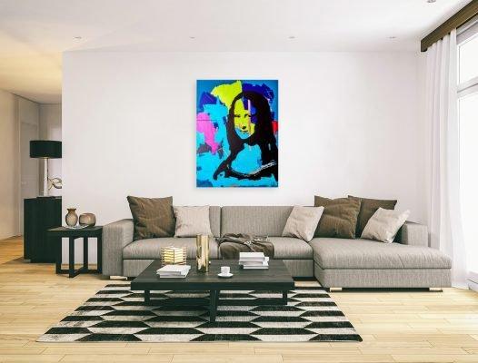 monalisapainting-affordableart-artwall-artforsale-artwebsites-buyartonline-contemporaryart-bestartistpainter2019-fineart-Banksyartwork-jonathanthepainter-laouina
